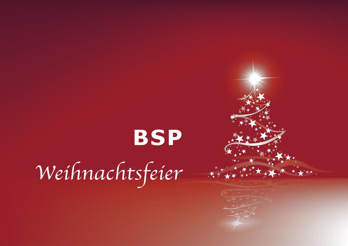 bsp weihnachtsfeier bsp bensberger sport und. Black Bedroom Furniture Sets. Home Design Ideas